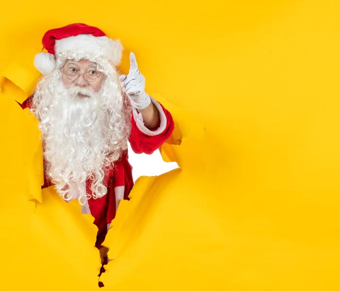 Mikołaj wkampanii reklamowej, kampanie przedświąteczne
